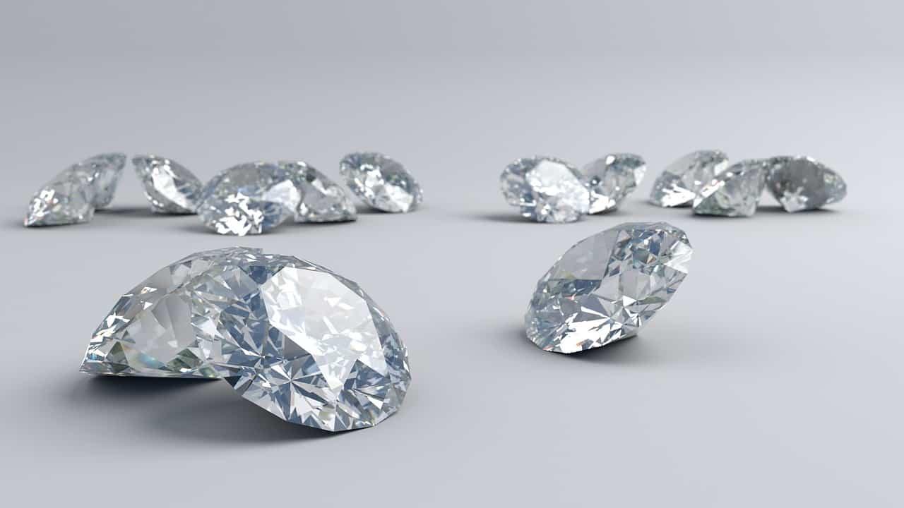 יהלומים בגדלים