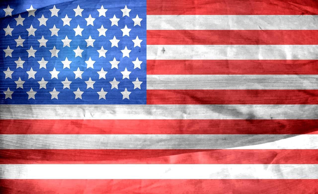 דגל ארצות הברית מחוספס